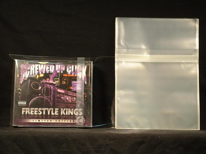CD Double Wide Jewel Case Reseal Side