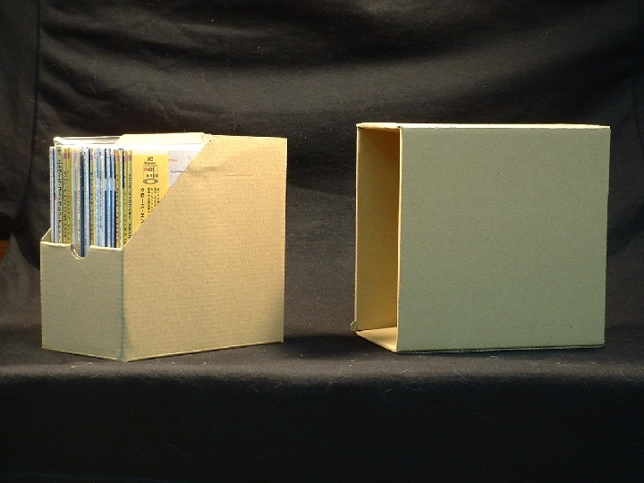 CD Cardboard Storage Box for Mini LP Paper Sleeve CDs - Click Image to Close