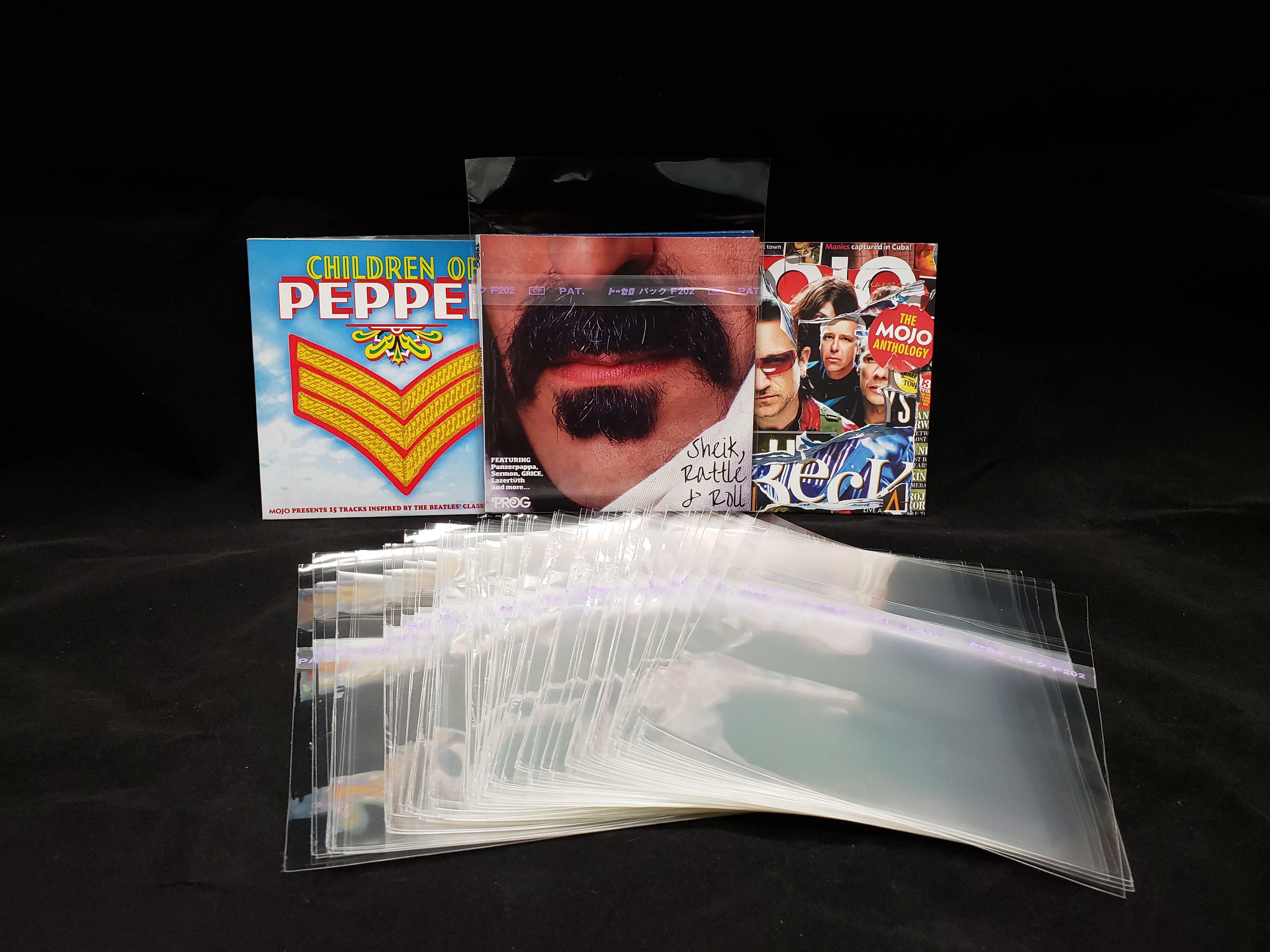 New! CD USA Promo Mini LP Outer Resealable Sleeves